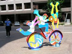 Bicycles of Lincoln - Public Art