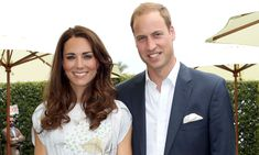 Kate Middleton and Prince William pictured showing rare public display of affection