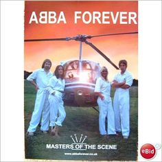 ABBA - Abba Forever Poster tribute band promo poster One Of Us Dancing Queen
