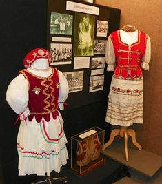 costumes from the Hungarian Heritage Museum in Cleveland