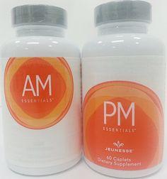 Jeunesse NutriGen™ AM - PM Essentials Anti Aging Skin Care, Essentials, Bottle, Products, Flask, Jars, Gadget