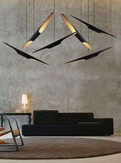 This unique and modern chandelier resembles the industrial lighting that it's perfect to recreate the era of industrial design. This pendant lamps are a straight interpretation of it with a unique twist. Use it while lighting up your interiors or as an outdoor lamp. There's no limit to the creativity with this light fixture.