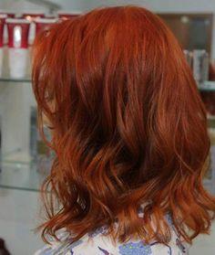 E se você quer puxar pro cereja, também pode, por que não. | 17 imagens de cabelos ruivos que vão te dar vontade de correr para o salão