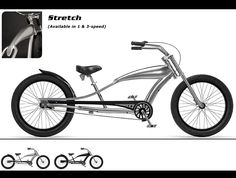 Phat Cycles - Beach Cruisers: Phattitude Bicycles - Stretch