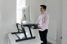 Working Ergonomics  Working at your desk needn't be a chore. Time spent in front of your computer screen doesn't have to lead to square eyes. Whether it be a standing desk, chair, mouse or footrest, discover the very best equipment in office ergonomics. Let slouching become a distant memory.