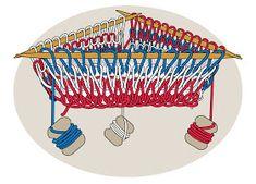 TECHknitting: Helix (barberpole) stripes, part 2 of a jogless stripe series