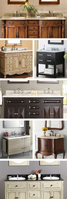 If you are thinking about selecting a bathroom vanity, make sure you coordinate the countertop style to the rest of your bathroom. You want to make sure the color and texture of the bathroom vanity matches your flooring and bathroom fixtures. Visit Wayfair and sign up today to get access to exclusive deals everyday up to 70% off. Free shipping on all orders over $49.