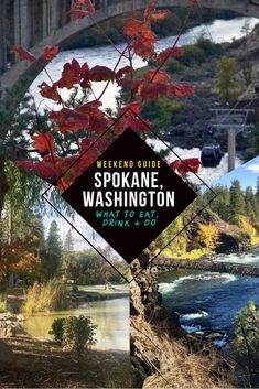 Spokane, Washington is a city you don't hear much about but has so much to offer. If you're looking for things to do, see and eat in this West Coast gem, here's everything from epic eats to best hikes at Bowl and Pitcher to Skyline Park downtown and Manit Usa Travel Guide, Travel Usa, Travel Guides, Canada Travel, Travel Tips, Spokane Restaurants, Drawing Simple, Washington Things To Do, Spokane Washington