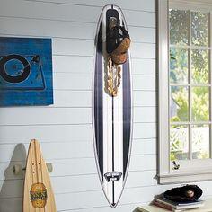 Navy Surfboard Decal + Hook Fin #potterybarnteen