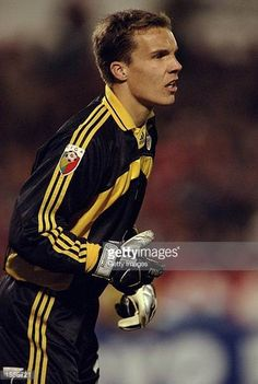 Robert Enke of Benfica in action during the Portugeuse Football Championships against Sporting Lisbon played at the Stadium of Light in Benfica...