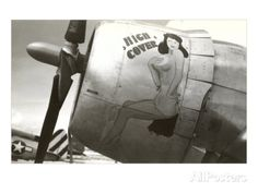 Nose art, « Haute protection », pin up Art sur AllPosters.fr