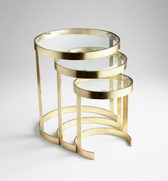 Metal and glass Nesting Tables. Drop us an email at info for your requirement. We will be happy to hear from you. Metal Decor, Metal Coffee Table, Table Furniture, Nesting Tables, Metal Furniture Design, Table, Metal Side Table, Side Table Decor, Metal Furniture