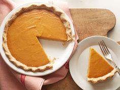 Vegan Pumpkin Pie recipe from Food Network Kitchen via Food Network