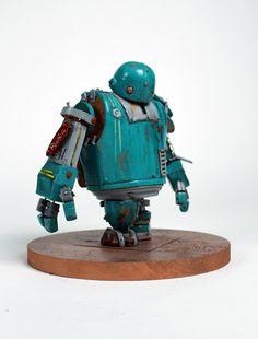 Robot Cute, Cool Robots, I Robot, Character Concept, Concept Art, Character Design, Robot Series, Steampunk Robots, Retro Robot