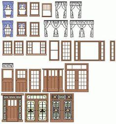 Silhouette Design Store - View Design build a house - doors