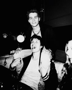 Dylan O'Brien and Ansel Elgort. Perfection. ❤️