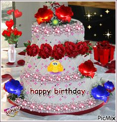 happy birthday An have a wonderful day xoxo mummzie lul Birthday Cake Messages, Happy Birthday Frame, Happy Birthday Wishes Images, Happy Birthday Video, Happy Birthday Celebration, Happy Birthday Flower, Birthday Wishes Cards, Happy Birthday Greetings, Birthday Table
