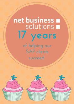 NBS: Sweet 17th! We help our SAP clients succeed since 1998 #SAP #birthday  #Barcelona