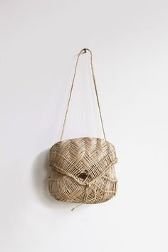 Bacute Woven Straw Bag   Oroboro