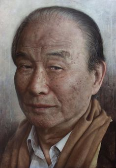 Realistic Portrait Paintings by Joongwon Jeong