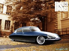 Modified 1964 Citroen DS