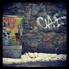 #streetart part 2 #graffiti #kraffiti #stonewall #katutaidetta #Helsinki #katutaide #kallio #sähkökaappitaidetta 17/1/17