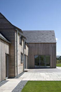 SILA A/B® RW060 & board on board cladding - private house, Gleneagles | Allan Corfield Architects