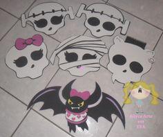 Allyce Arte em E.V.A: Monster High