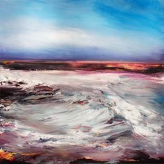"""Abstract Painting """"Swell"""" by Jeffrey Bisaillon"""
