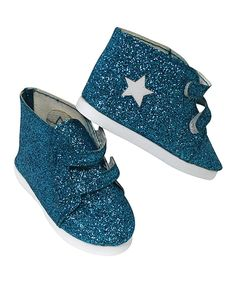 Take a look at this Blue All That Glitters Boots for 18'' Doll today!