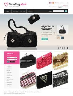 Handbag Store PrestaShop Themes by Di