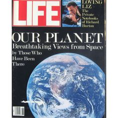 Life Magazine, November 1, 1988 - Our Planet Earth. $16.95 USD Only 1 available