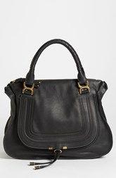 829fd9850cd5 Chloé  Large Marcie  Leather Bag Chloe Bag
