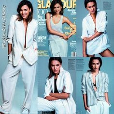 JESSICA ALBA COVERS GLAMOUR MAY 2014#jessicaalba #fashion #style #stylish #orange #blazer #BlondeHair #blonde #hollywood #Actress #cashwarren #husband #bob #hair #casual #swagger #swag #cool #celebrity #flats #black #shades #accessories #handbag #trousers #floral #floralpants... - Celebrity Fashion