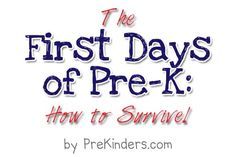 great ideas for pre-k!!