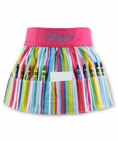 Personalized Art Apron for Kids.