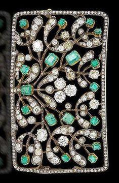 beautiful tree leaf style brooch pin handmade sterling silver solid 925 Jewelry* #niki