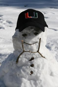 Even in the cold, its all about the U! U Of Miami, Miami Images, Hurricanes Football, University Of Miami Hurricanes, Colleges In Florida, Home Team, Coral Gables, Nfl Football, Dolphins