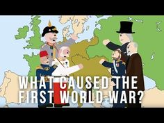 What Caused the First World War? English Lesson Plans, English Lessons, Learn English, World War One, First World, English Caption, Anzac Day, Canadian History, Total War