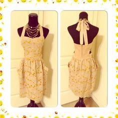 Flash Sale Hype Linen Cotton Dress Size 8