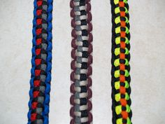 4 Color Paracord Bracelets?  YES!!  This is the place to get your custom paracord bracelets.