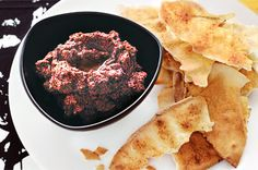 Chickpea and olive dip. Whip up this Lebanese-inspired dip - it tastes fantastic and takes just ten minutes to make. Dip Recipes, Raw Food Recipes, Snack Recipes, Healthy Recipes, Olive Dip, Lebanese Recipes, Lebanese Cuisine, Bariatric Recipes, Bariatric Food