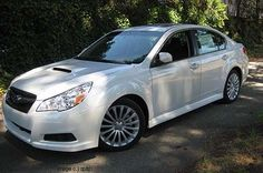 My next car. 2010 Subaru Legacy GT in pearl | http://sportcarcollections.blogspot.com