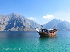 Frisch Verliebt: Fjord Musandam im Oman
