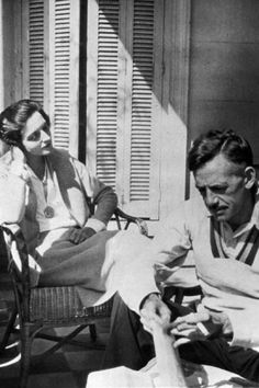 Eugene O'Neill with his last wife, actress Carlotta Monterey, who safeguarded him, and enabled him to write his later plays, though friends and family considered her his jailer. Zippertravel.com Digital Edition