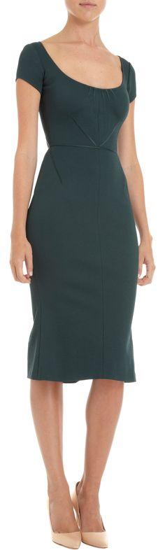 Zac Posen Cap Sleeve Dress at Barneys.com