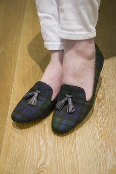 Preppy Tassel Loafers / J Crew