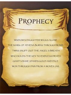 Mark of Athena prophecy I am currently reading this and hoping that Nico di Angelo dose not get killed, o gods, that would be awful! Percy Jackson Prophecy, Mark Of Athena, Percy Jackson Quotes, Percy And Annabeth, Percy Jackson Books, Annabeth Chase, Percy Jackson Fandom, Percabeth, Book Lists