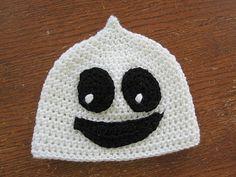 Free Crochet Baby Boo Hat Pattern.