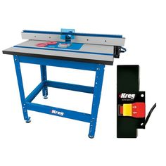 Kreg PRS1045 Precision Router Table System With Prs3100 Router Table Switch